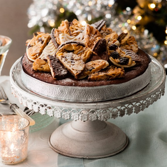 Chocolate Florentine Torte Recipe