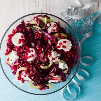 Winter Red Salad