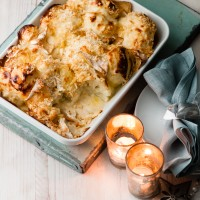 Cauliflower Cheese with Camembert