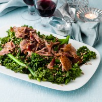 Duck and Healthy Greens Salad