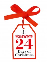 WIN! With Our woman&home 24 Days Of Christmas