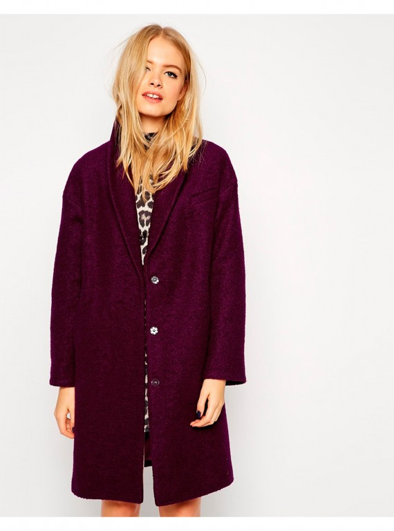 ASOS coat with shawl collar