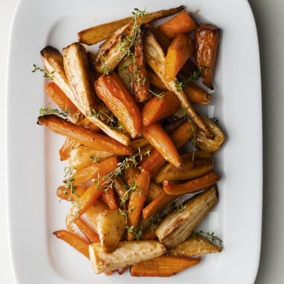 Roasted Parsnips and Carrots in Caramel - Woman And Home