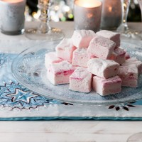 Raspberry Ripple Marshmallows