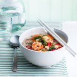 Miso Soup with Prawns