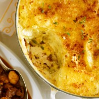 Potato Gratin in a Pan