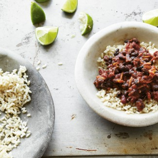 Black and Kidney Bean Chilli