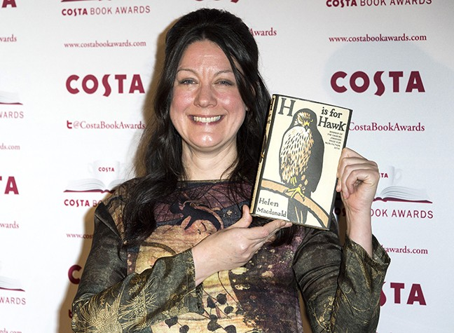 Backstage At The Costa Book Awards 2015