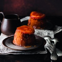 Marmalade Puddings with Whisky Sauce