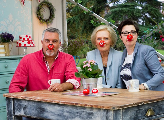 Comic Relief Bake Off photo