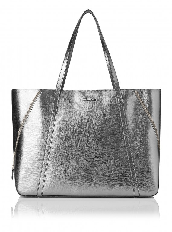 LK Bennett Kelly Pewter Bag photo