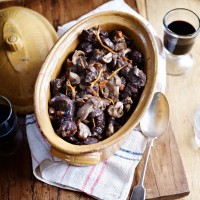 Venison Stew with Wild Mushrooms
