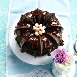 Mocha Chocolate Bundt Cake