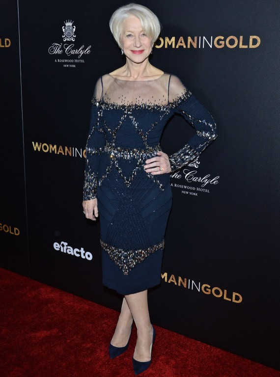 Woman In Gold Premiere, New York
