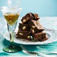 Chocolate Macadamia Brownies