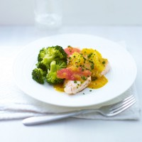 Turkey Steaks with Citrus Sauce