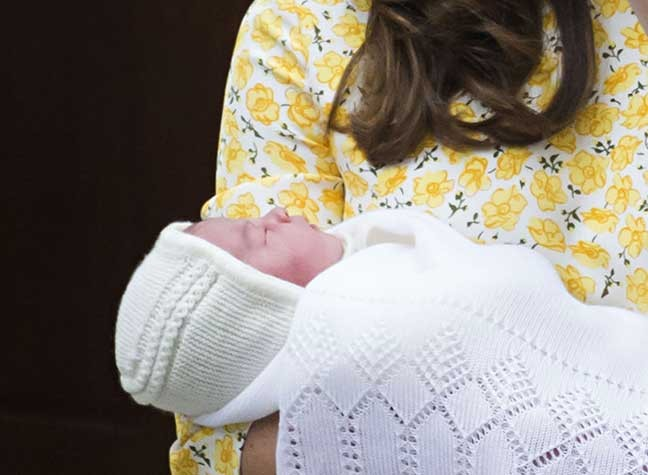 FIRST LOOK: The Cambridges Leave Hospital...