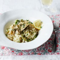 Artichoke, Caper and Lemon Risotto