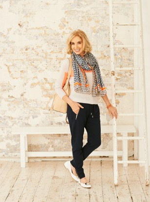 Update Your Look With A Summer Scarf