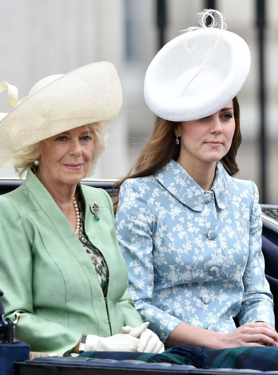 KateMid Trooping the Colour 2015