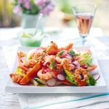 Prawn and Papaya Salad