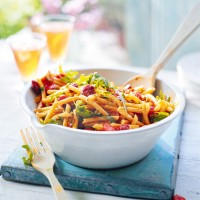 Tomato and Chorizo Pasta Salad