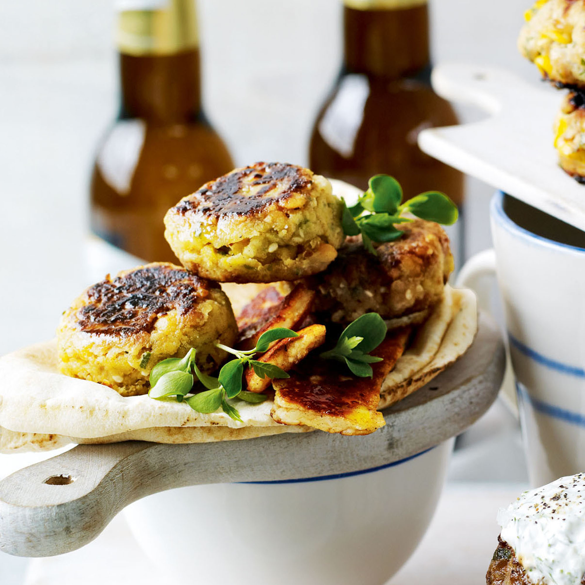 Chickpea Burger - Woman And Home
