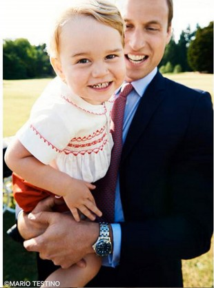 Prince George In Pictures