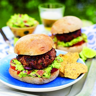 Chipotle Chilli Beef Burgers