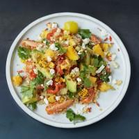 Jamie Oliver's Grilled Corn and Quinoa Salad