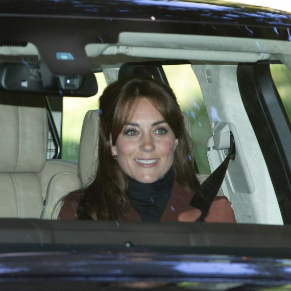 The Duchess of Cambridge - Face-Framing Fringe