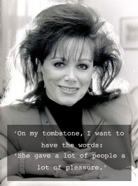 Jackie Collins: A Tribute To A Literary Icon