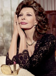 Sophia Loren Stuns In Dolce & Gabbana's Newest Beauty Ad