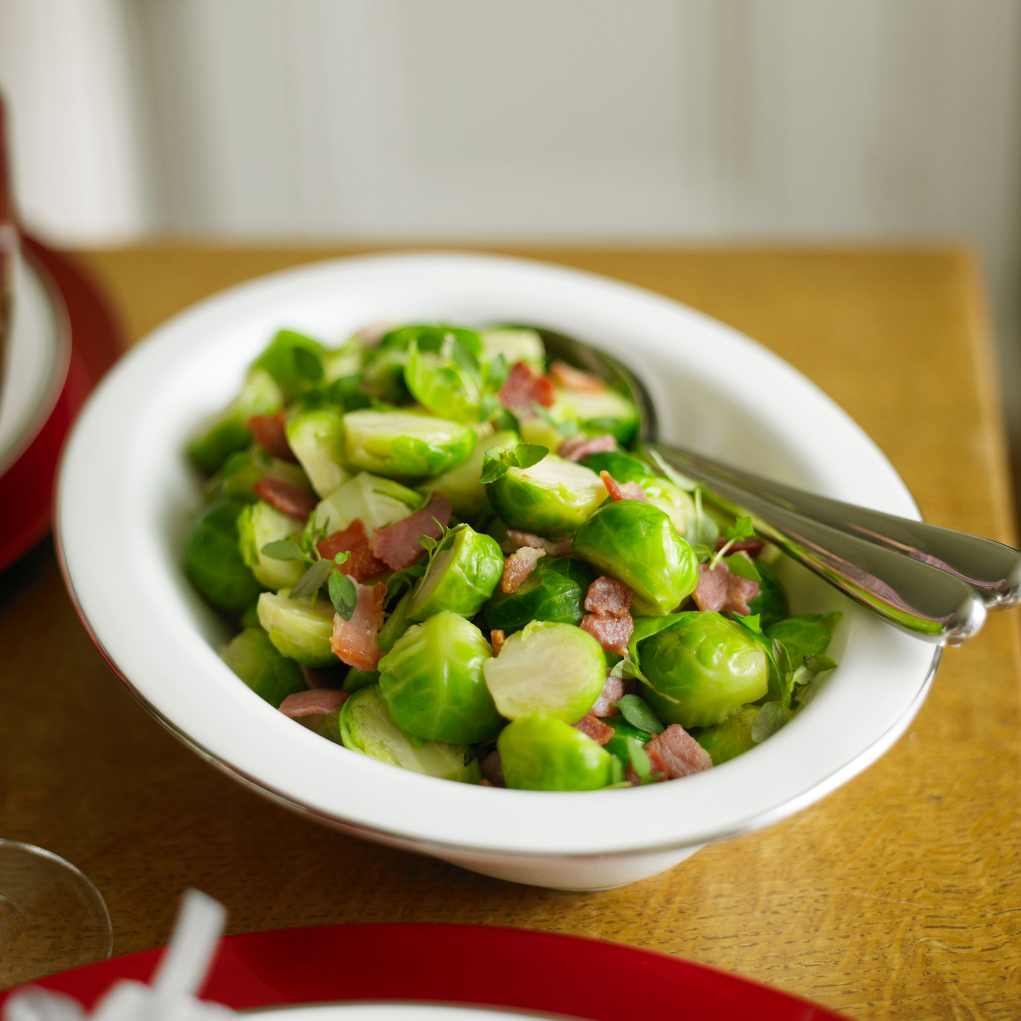Brussels Sprouts with Bacon - Woman And Home