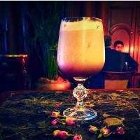 Dark Rose Chocolate Cocktail