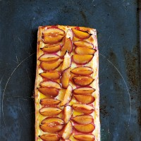 James Martin's Roasted Plum Tart