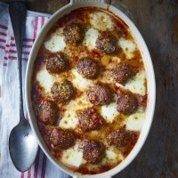 Beef And Mozzarella Gratin