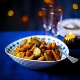 Glazed Baby Carrots, Turnips And Shallots
