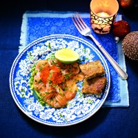 Salmon Carpaccio With Herbs And Lime