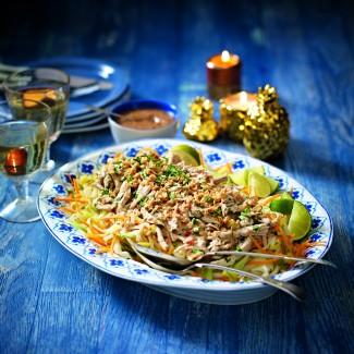 Bang Bang Chicken With Rice Noodles