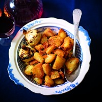 Mini Roast Potatoes With Garlic And Thyme