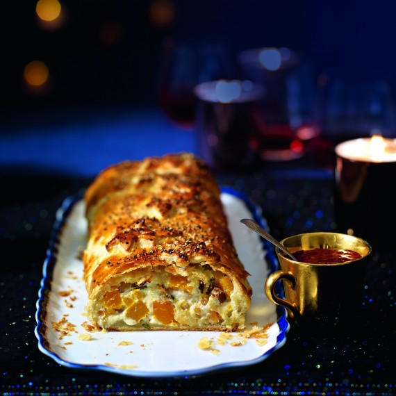 Goats' Curd And Squash Wellington - Woman And Home