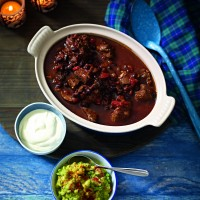 Chunky Beef Chilli And Black Beans