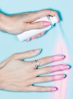 Have You Tried The New Wash-Off Nail Polish?