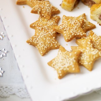 Cheese Star Biscuits