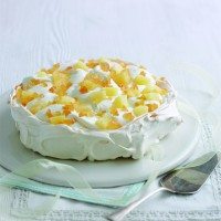 Mary Berry's Pineapple and Ginger Pavlova