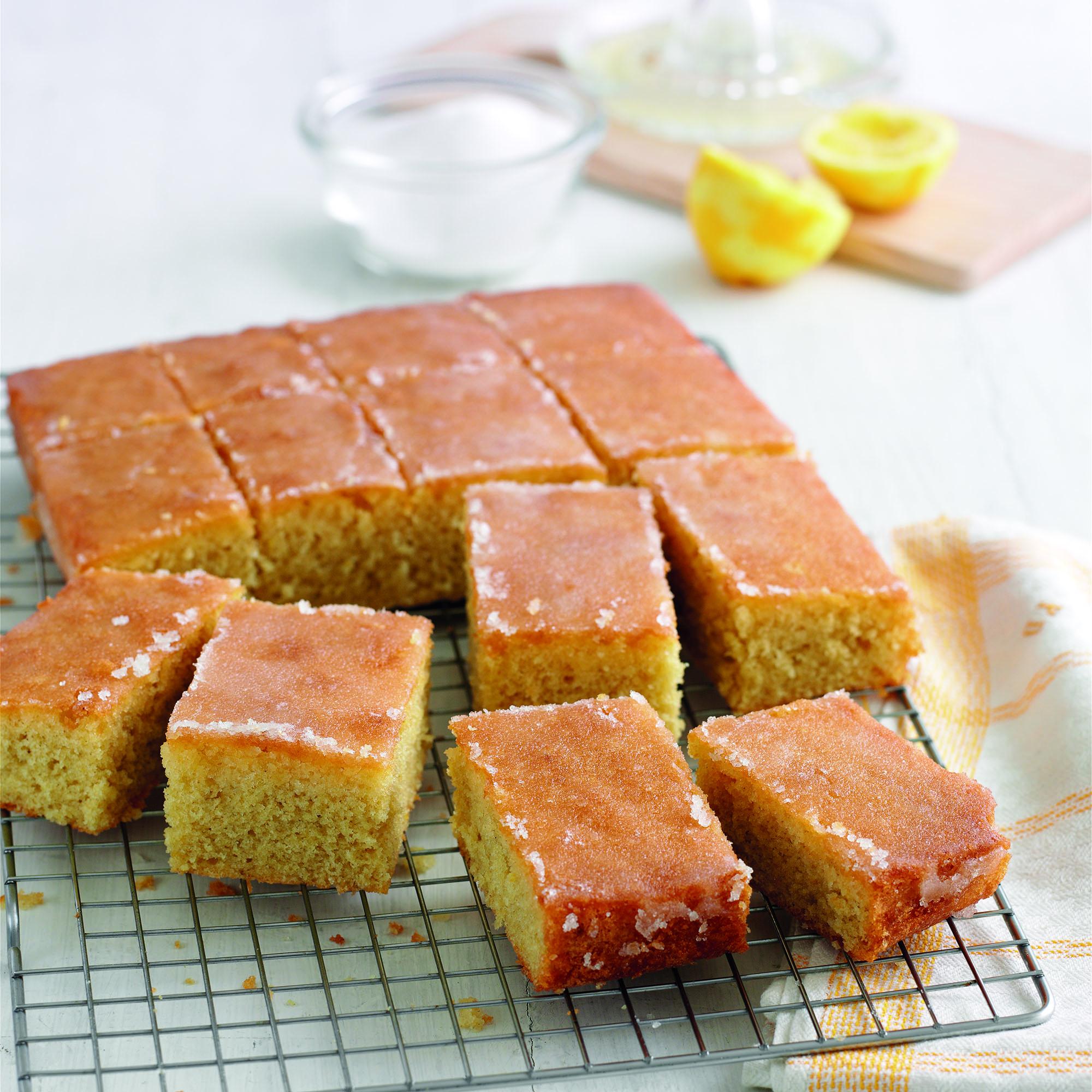 Lemon Sultana Drizzle Cake