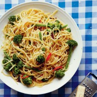 John Torode's Purple Sprouting Broccoli Linguine