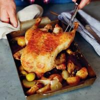 John Torode's Duck with Potatoes