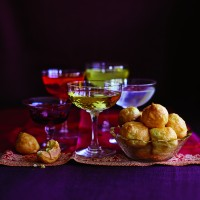 Cheesy Gougeres